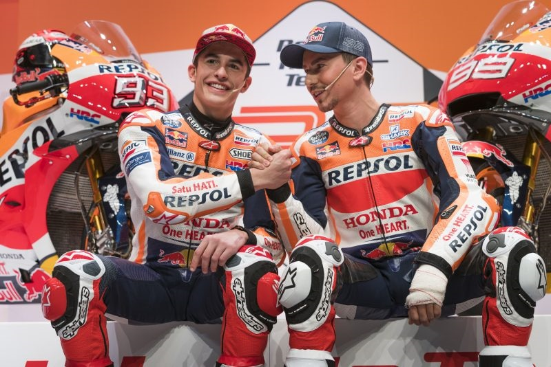 Marquez at MotoGP World Championship Grand Prix 2015