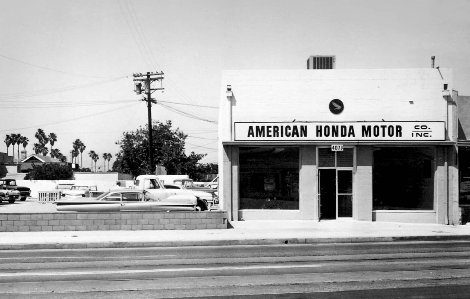 First Corporate Honda Location American Hondas Office